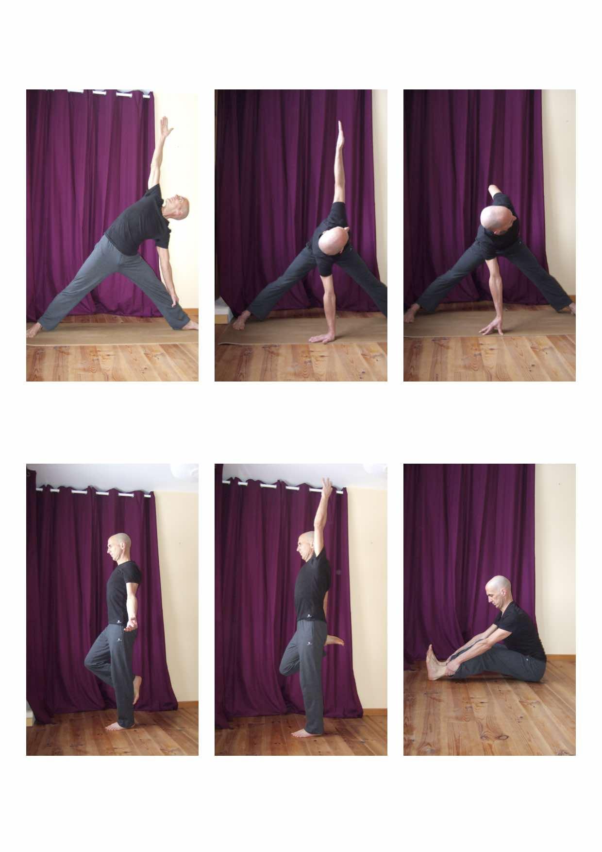 postures de yoga en trieves et vercors