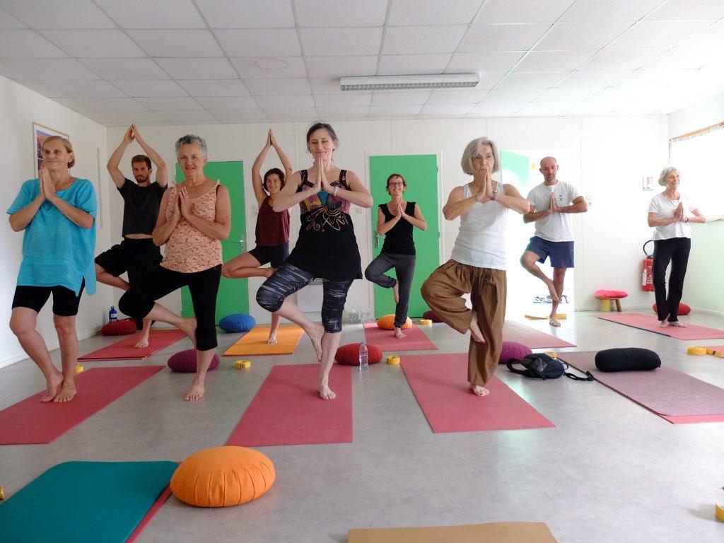stage yoga randonnée lus la croix haute